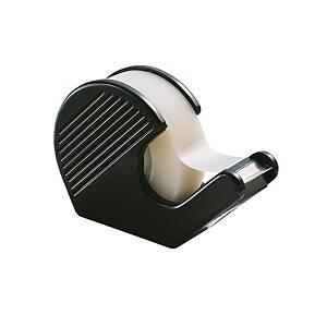 Dévidoir manuel Lyreco Budget Mini, 28 x 64 x 94 mm, noir