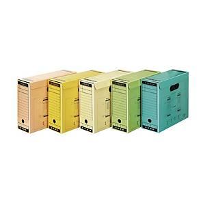 문화 문서 보관 상자 F192-7 노랑