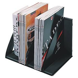 Stojak na katalogi i książki CEP, czarny