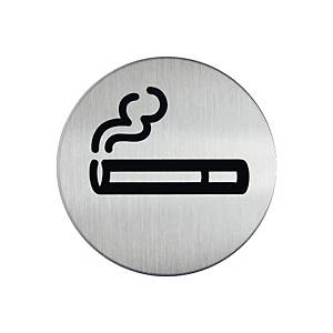 Durable Steel  NO SMOKING  Sign 83mm