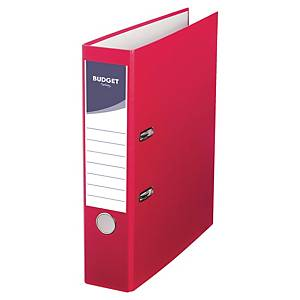 Lyreco Budget Lever Arch File A4 75mm Red