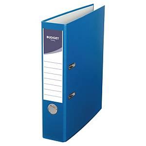 Lyreco Budget ordners met hefboom, A4, PP, rug 75 mm, blauw, per ordner