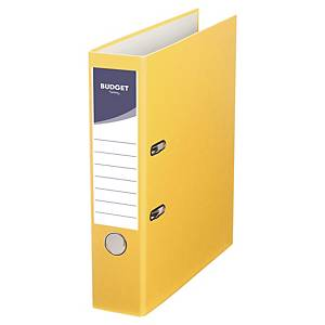 Lyreco Budget Lever Arch File A4 75mm Yellow