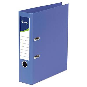 Lyreco Lever Arch File PP A4+ Blue - Pack Of 10