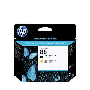 Testina di stampa HP No.88 C9381A,41500 pagine, nero/giallo