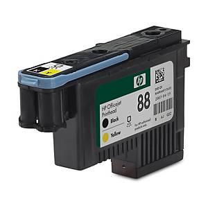 Cabeça de tinta HP 88 - preto/amarelo