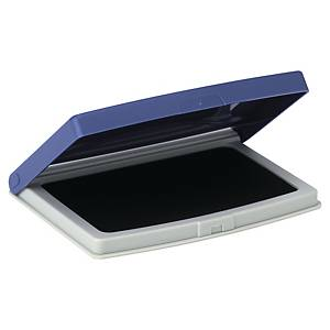 Cuscinetto per timbri a base d acqua blu 70 x 110 mm