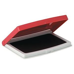 Cuscinetto per timbri a base d acqua  rosso 70 x 110 mm