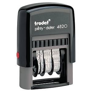 Trodat Printy 4820 datumstempel NL, 4 mm, niet personaliseerbaar