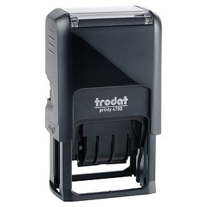 Trodat 4750 Printy Self-Inking  Paid  Dater Stamp - 4mm Character Size