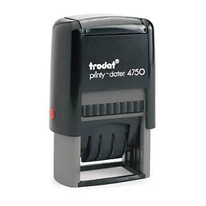 TRODAT ตรายางหมึกในตัว TR4750/L2E  PAID  41 x 24มม.