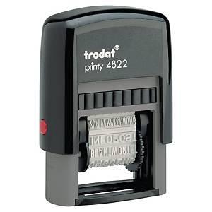 Wortbandstempel Trodat Printy 4822 mit 12 Texten