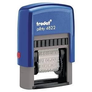 Trodat Printy dial-a-phrase stamp 4822 FR