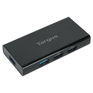 Hub de bureau 7 ports USB 3.0 Targus, noir