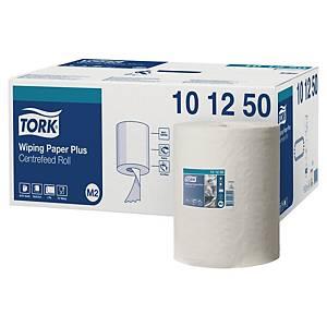 Pack 6 bobinas toalhas de mãos Tork Advanced M2 - 160 m - Folha dupla - branco