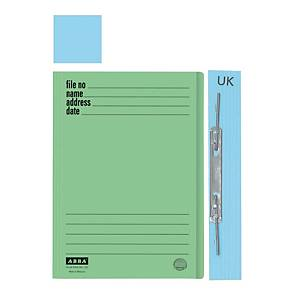 ABBA 102UK Manilla Card Folder Blue
