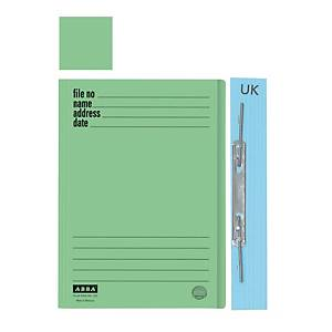 ABBA 102UK Manilla Card Folder Green