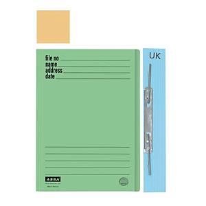 ABBA 102UK Manilla Buff Card Folder