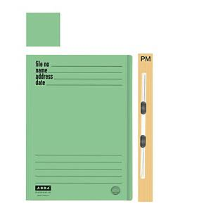 ABBA 102PM Manilla Green Card Folder