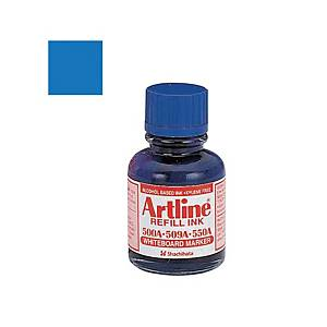 Artline Whiteboard Marker Refill Ink 20ml Blue