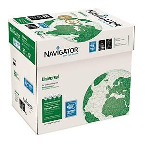 Navigator Papier, A4, 80 g, weiß, 5 x 500 Blatt