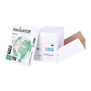 Navigator Universal premium paper A4 80g - box of 2500 sheets