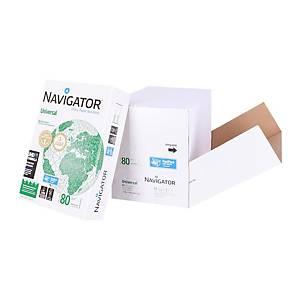 Papier A4 blanc Navigator Universal premium, 80 g, la boîte de 2.500 feuilles