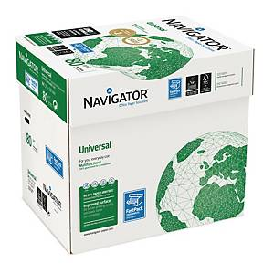 PRINTERPAPIR NAVIGATOR UNIVERSAL XPRESSBOX A4 80G KASSE A 2.500 ARK
