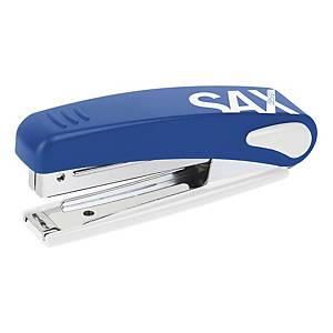 Sax 219 kisméretű asztali tűzőgép, kék, 10 lap