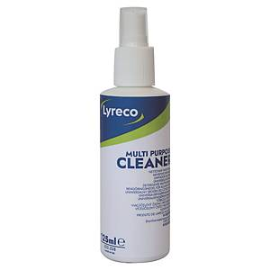 Spray Lyreco pour le nettoyage de surfaces et d'appareils informatiques, 125 ml