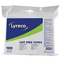 Chiffon Lyreco multi-usages - non tissé - sachet de 100
