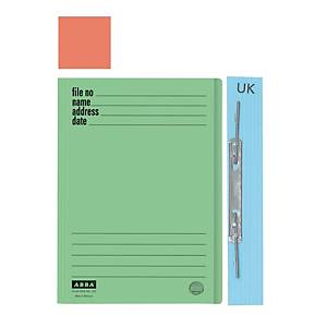 ABBA 102UK Manilla Card Folder Orange