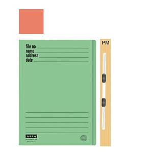 ABBA 102PM Manilla Orange Card Folder