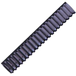 Hata Plastic Combs 45mm Black - Pack of 10