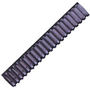 Hata Plastic Combs 50mm Black - Pack of 10