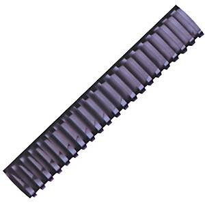 Hata Plastic Combs 50mm Black - Pack of 10