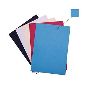 Binding Cover 230gsm Blue - Pack of 100 Sheets