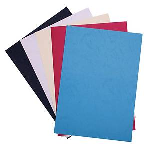 Binding Cover 230gsm Red - Pack of 100 Sheets