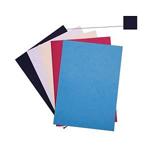 Binding Cover 230gsm Black - Pack of 100 Sheets