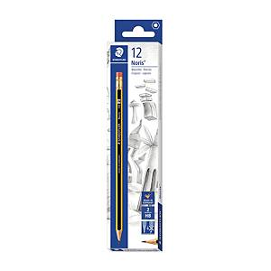 BX12 STAEDTLER NORIS 122 PENCIL W/ERASER