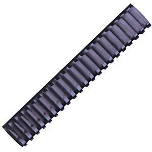 Hata Plastic Combs 38mm Black - Pack of 10