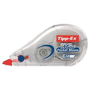 Tipp-Ex Mini Pocket Mouse Correction Tapes - 6 m x 5 mm, Each