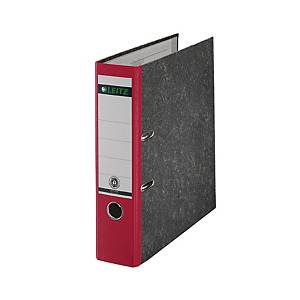 Ordner Leitz 1080, A4, Rückenbreite 80mm, rot