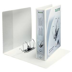 Leitz 4225 personalised binder 2 ring U180 75 mm spine 86 mm A4 Maxi white