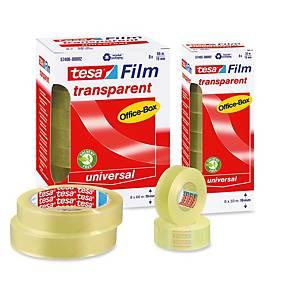Pack de 10 rollos de cinta adhesiva transparente Tesa Office Film - 15 mm x 33 m