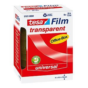 Tesa transparant tape pp 15 mmx66mm