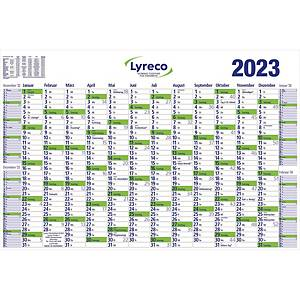 Plakatkalender 2020 Lyreco, 16 Monate / 1 Seite, 102 x 68,5cm