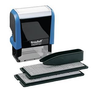 Set Timbro personalizzabile autoinchiostrante Trodat Printy 4912 typo