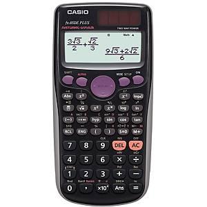 Taschenrechner Casio FX-85DE Plus, 10 / + 2stellig, Solar-/Batteriebetrieb, swz