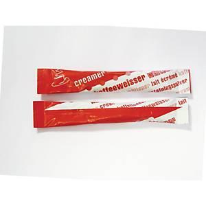 Sticks de lait en poudre, 2,5 g, la boîte de 1000 sticks